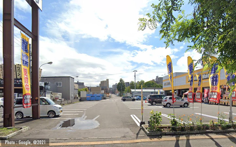 札幌市コイン洗車場 イエローハット-札幌白石店